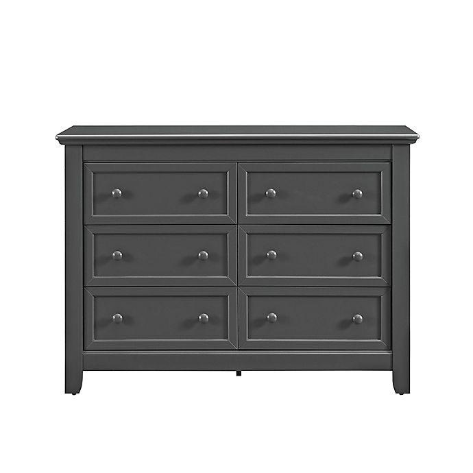 Alternate image 1 for Baby Relax Tia 6-Drawer Dresser in Slate