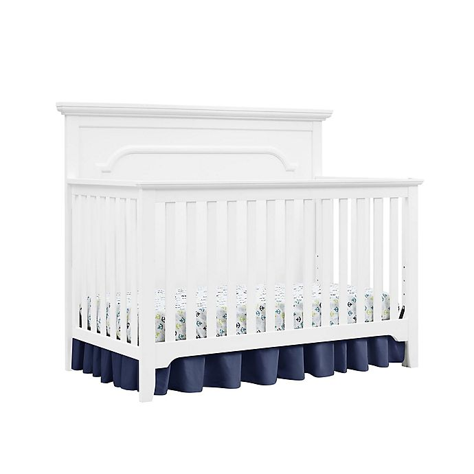 Alternate image 1 for Baby Relax Ferris 4-in-1 Convertible Crib in Pure White