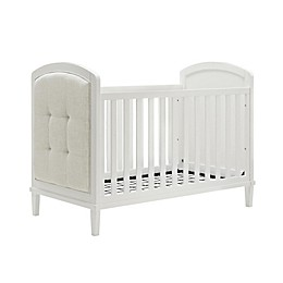 Baby Relax Senna 3-in-1 Upholstered Convertible Crib in White