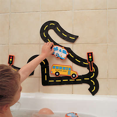 Edushape® Wet N' Stick Traffic Fun