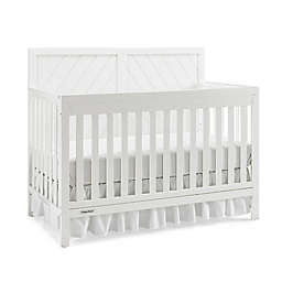 Fisher-Price® Buckland 4-in-1 Convertible Crib in Snow White