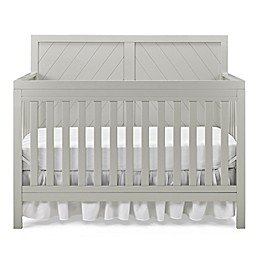 Fisher-Price® Buckland 4-in-1 Convertible Crib in Misty Grey