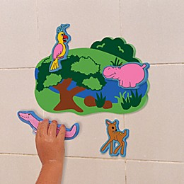 Edushape® Wet N' Stick Jungle Fun