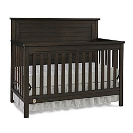 Fisher-Price® Quinn 4-in-1 Convertible Crib in Weathered Brown