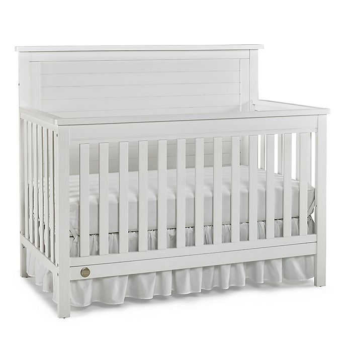 Fisher Price 174 Quinn 4 In 1 Convertible Crib In Weathered