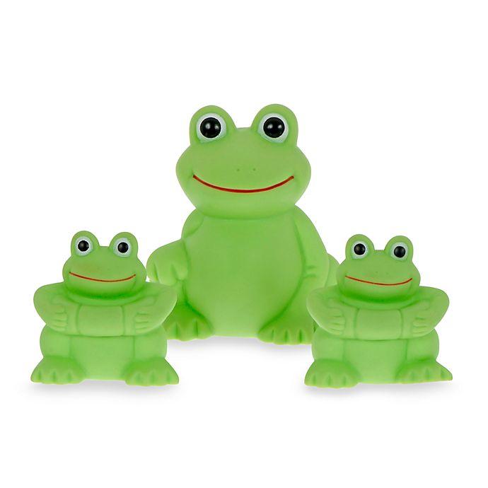 Alternate image 1 for Vital Baby® Play N' Splash 3-Pack Frogs