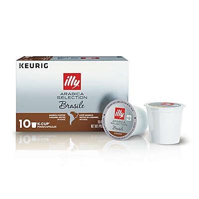 Keurig® K-Cup® Pack 10-Count illy® Arabica Selction Brasile Coffee