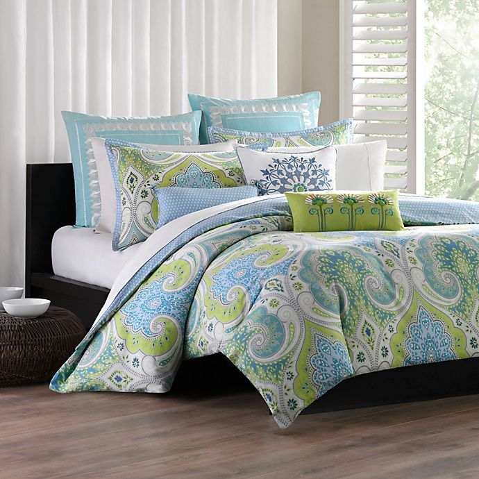 Echo Design Sardinia Comforter Set 100 Cotton Bed Bath Beyond