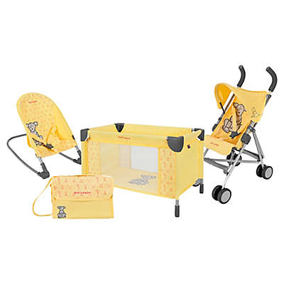 Maclaren Deluxe By Air By Land By Sea Activity Set in Yellow
