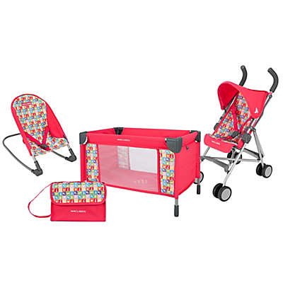 Maclaren Deluxe By Air By Land By Sea Activity Set in Red