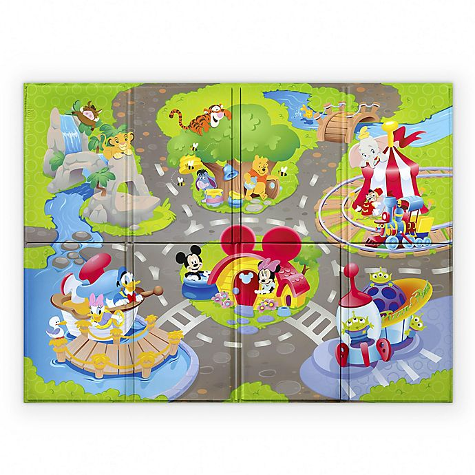 Alternate image 1 for Disney® Baby Go Grippers™ Disney Pals Play Mat