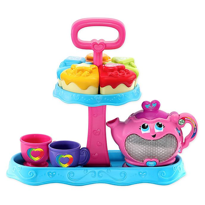 Alternate image 1 for LeapFrog® Musical Rainbow Tea Party™ in Pink