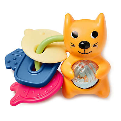 SKIP*HOP® Vibrant Village Cat Rattle & Teethe Keys