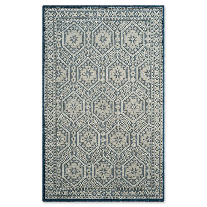 Alternate image 1 for Safavieh Paseo Ariel 6' x 9' Area Rug in Blue