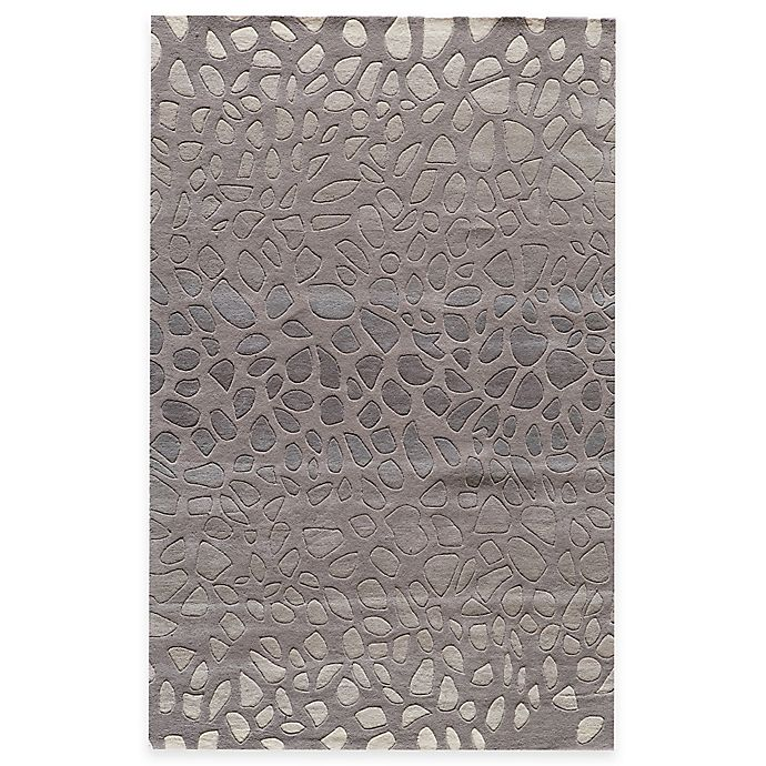 Alternate image 1 for Momeni Delhi 5-Foot x 8-Foot Area Rug in Silver