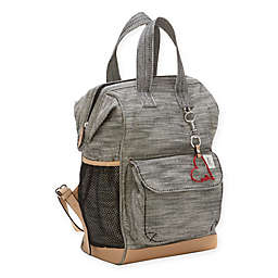 ED Ellen DeGeneres Dove Diaper Backpack in Black/Natural
