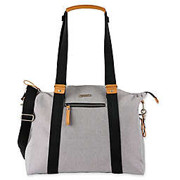 Bababing Harvey Diaper Bag in Stone
