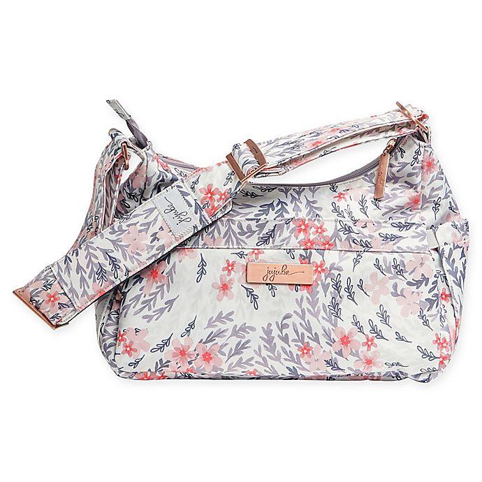 Alternate image 1 for Ju-Ju-Be® HoboBe Diaper Bag in Sakura Swirl