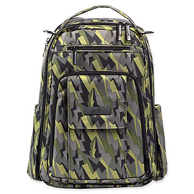 Ju-Ju-Be® Be Right Back Backpack Diaper Bag in Black Lightning