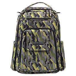 Ju Be Right Back Backpack Diaper Bag In Black Lightning