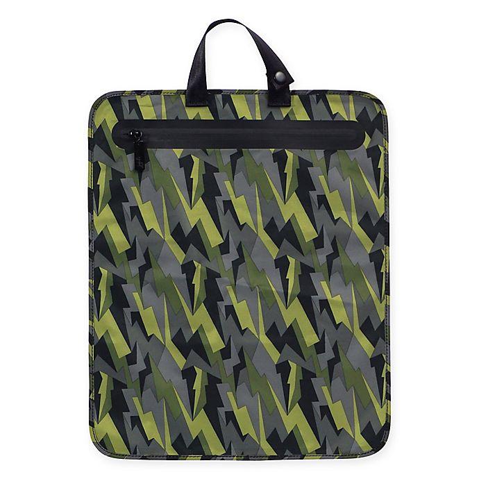 Alternate image 1 for Ju-Ju-Be® Onyx Be Dry Diaper Bag in Black Lightning