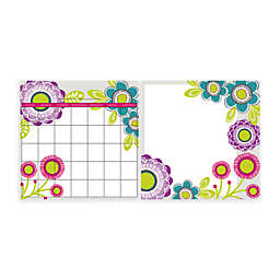 WallPops!® Removable Dry Erase Monthly Calendar/Message Board Set in Poppy