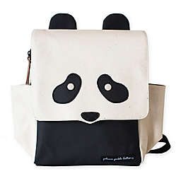 Petunia Pickle Bottom® Panda Mini Me Critter Backpack Diaper Bag in Black