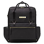 Petunia Pickle Bottom® Balance Backpack Diaper Bag in Black Matte Leatherette