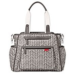 SKIP*HOP® Grand Central Diaper Bag in Grey Feather