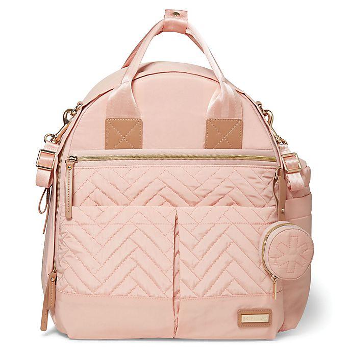 Alternate image 1 for SKIP*HOP® Suite 6-Piece Diaper Backpack Set in Blush