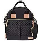 SKIP*HOP® Suite 6-Piece Diaper Backpack Set in Black