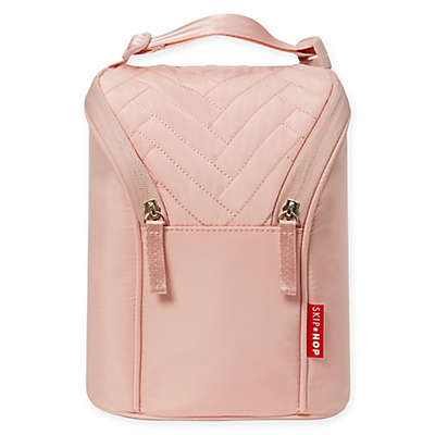 Suite by SKIP*HOP® Double Bottle Bag in Blush