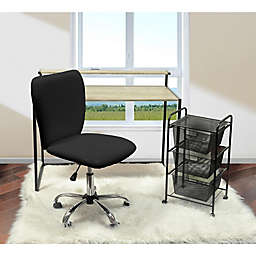 Urban Shop Faux Leather Upholstered Chair