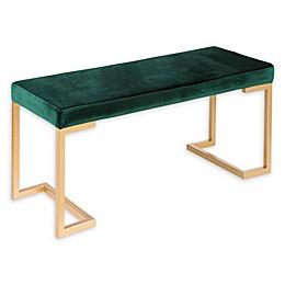 Lumisource™ Velvet Upholstered Bench