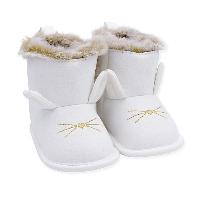 Alternate image 1 for carter's® Bunny Boot in Ivory