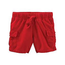 OshKosh B'gosh® Pull-On Cargo Short in Red