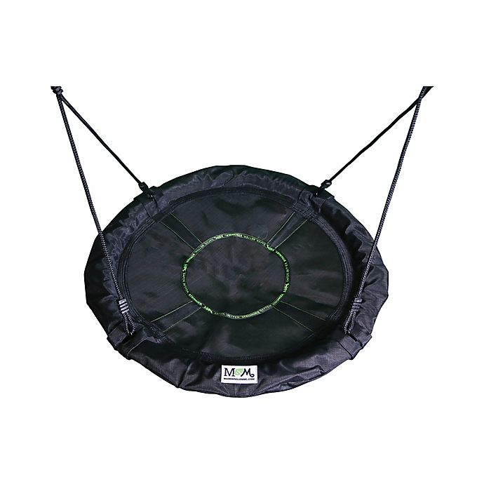 Alternate image 1 for M&M Sales Enterprises Adventure-MG Swing in Black