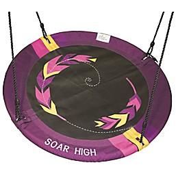 M&M Sales Enterprises Adventure Soar High Swing in Purple