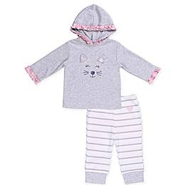 asher and olivia® 2-Piece Industrial Dream Hoodie and Pant Set in Grey