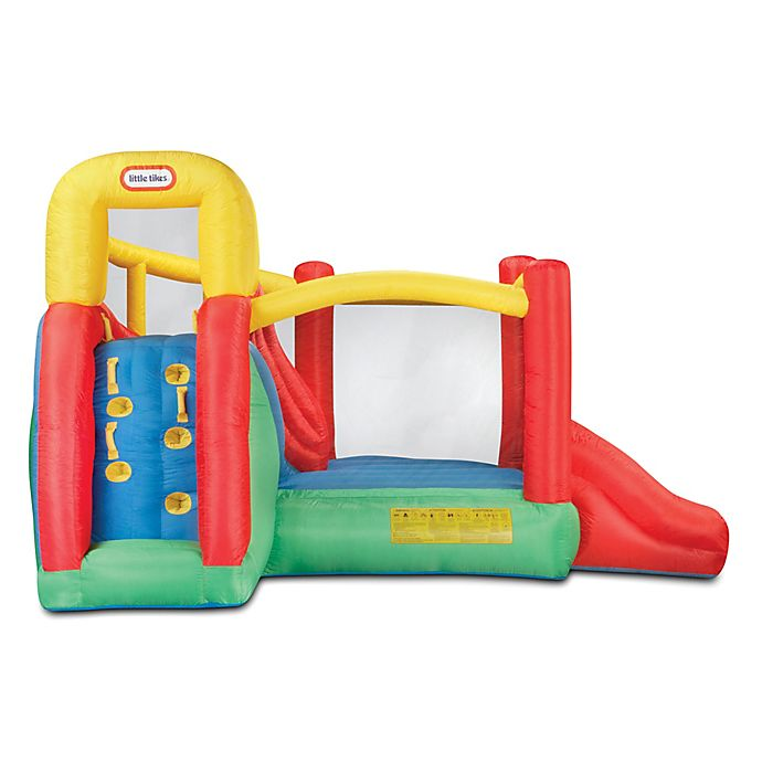 Alternate image 1 for Little Tikes® Double Fun Slide 'n Bounce™ Bouncer