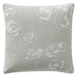 Highline Bedding Co. Belize Square Throw Pillow in Blue Haze