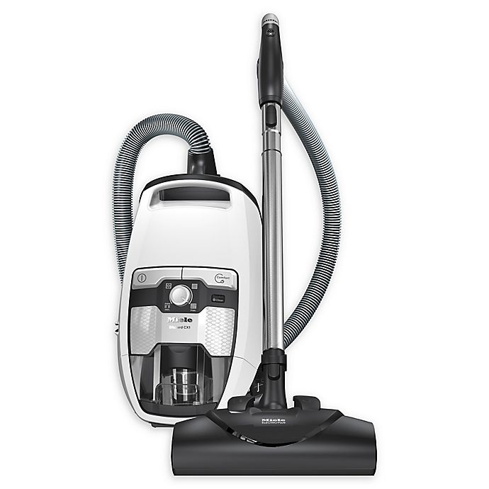 Alternate image 1 for Miele Blizzard CX1 Cat & Dog Bagless Canister Vacuum in White