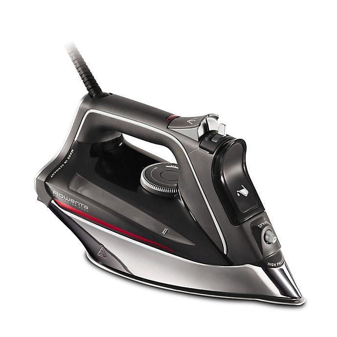 Rowenta® Pro Master Xcel Steam Iron in Black  87c58d63a6