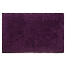 "Wamsutta® Ultra Fine Reversible 17"" x 24"" Bath Rug in Deep Purple"