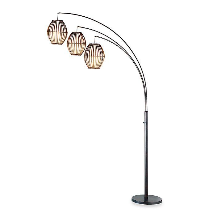 Alternate image 1 for Adesso® Maui Arc Lamp in Antique Bronze