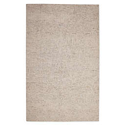 Abasca Textures Baker 5' x 8' Area Rug in Natural