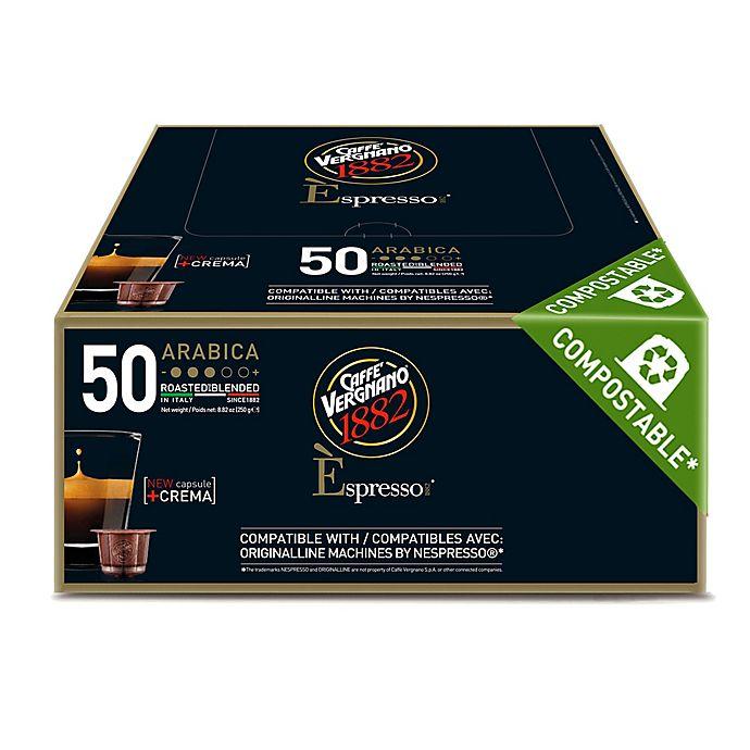 Alternate image 1 for Caffe Vergnano® Arabica Espresso Capsules 50-Count