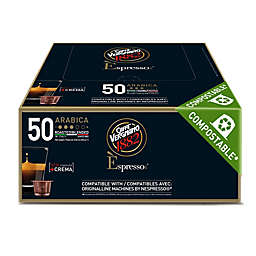 Caffe Vergnano® Arabica Espresso Capsules 50-Count