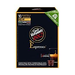 Caffe Vergnano® Napoli Espresso Capsules 10-Count