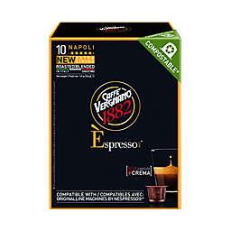 Caffe Vergnano® 10-Count Napoli Espresso Capsules